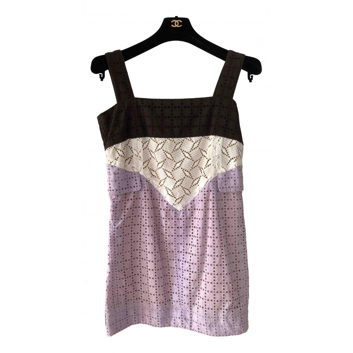 Louis Vuitton - Robe   pour femme en coton - multicolore