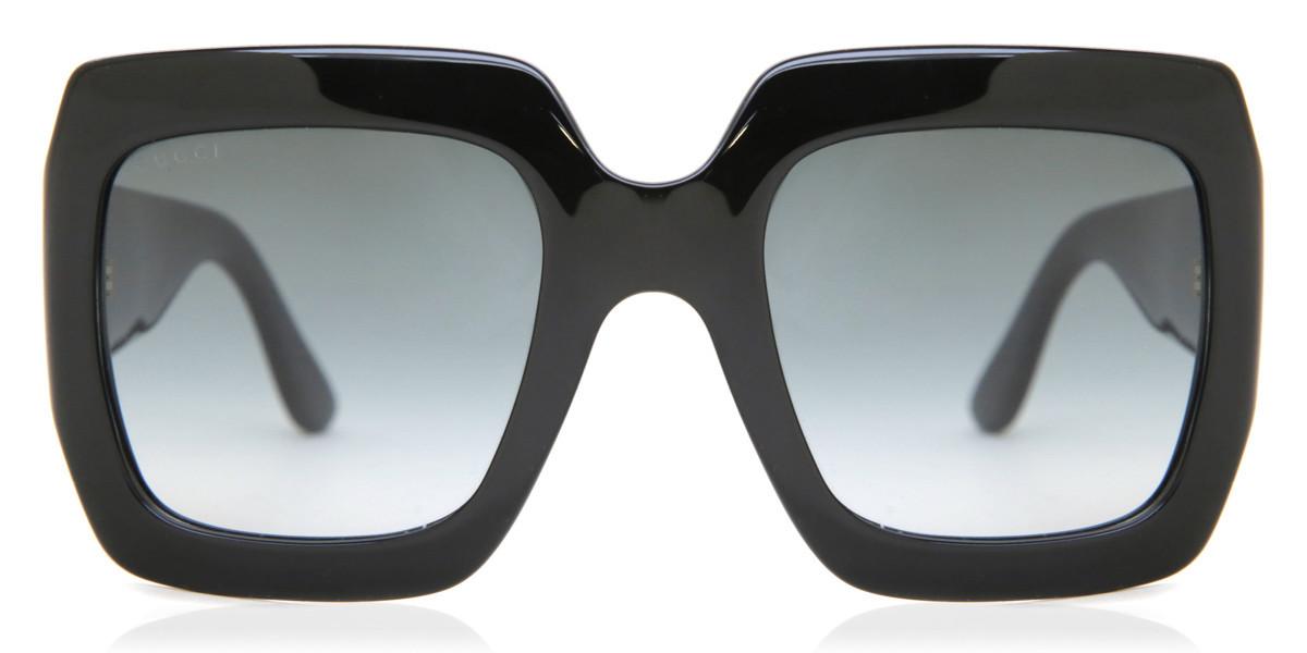 Gucci GG0053S 001 Women's Sunglasses Black Size 54 - Free RX Lenses