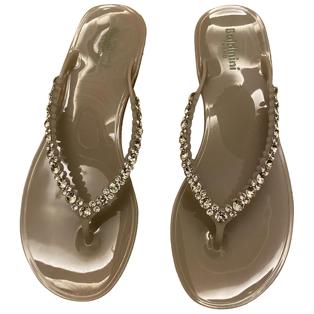 Baldinini \N Beige Sandals for Women 38 EU