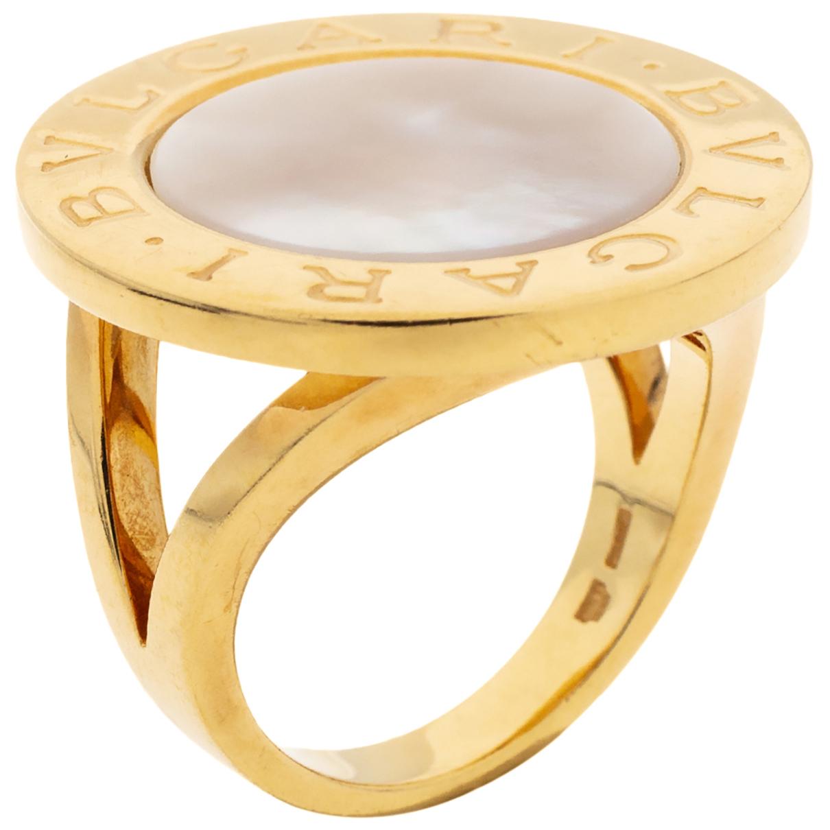 Bvlgari \N Gold Yellow gold ring for Women 7 ½ US
