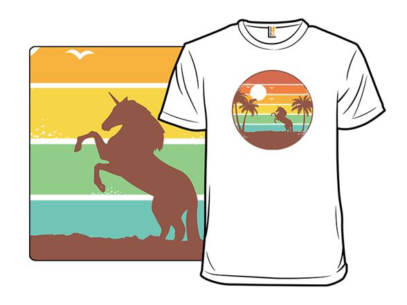 Unicorn Sunset T Shirt
