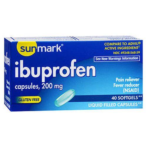 Ibuprofen 40 Caps by Sunmark