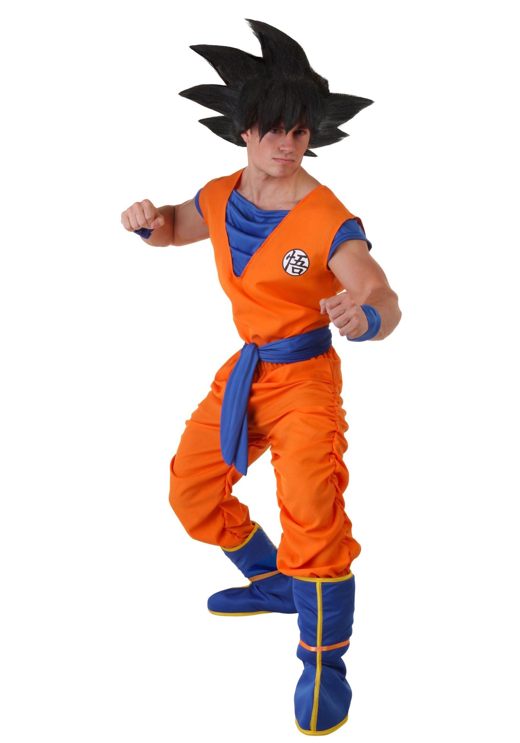 Dragon Ball Z Goku Plus Size Costume