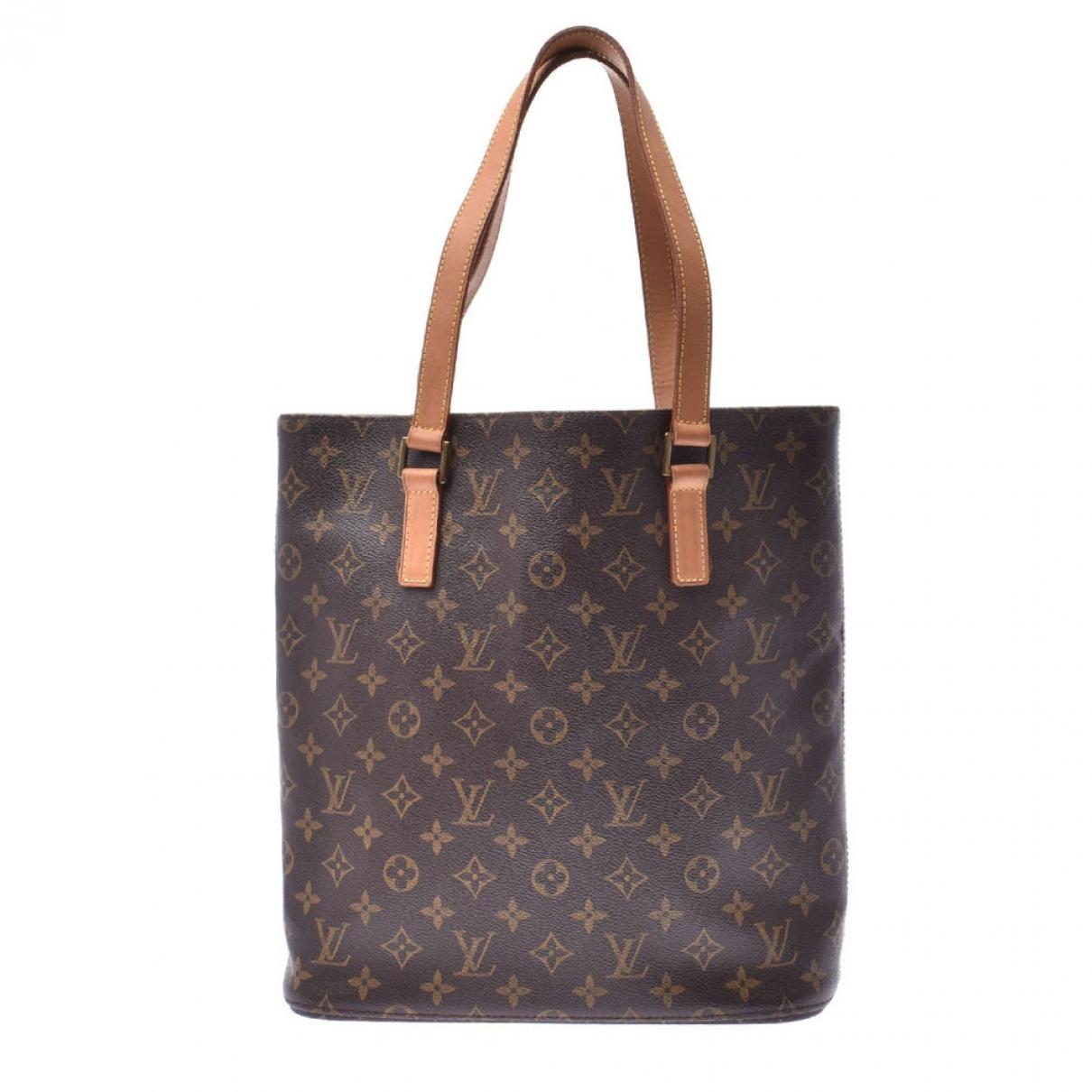 Louis Vuitton - Sac a main Vavin pour femme en toile - marron
