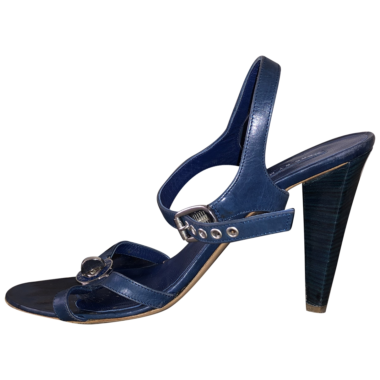 Marc By Marc Jacobs \N Blue Leather Sandals for Women 40 EU