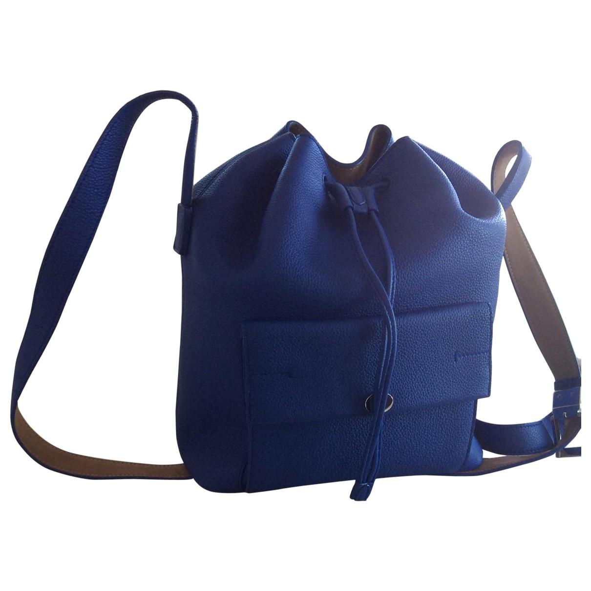 Loro Piana \N Blue Leather handbag for Women \N