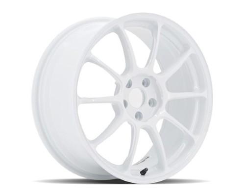 Volk Racing WKZ422EDW ZE40 Wheel 19x9.5 5x114.3 22mm Dash White