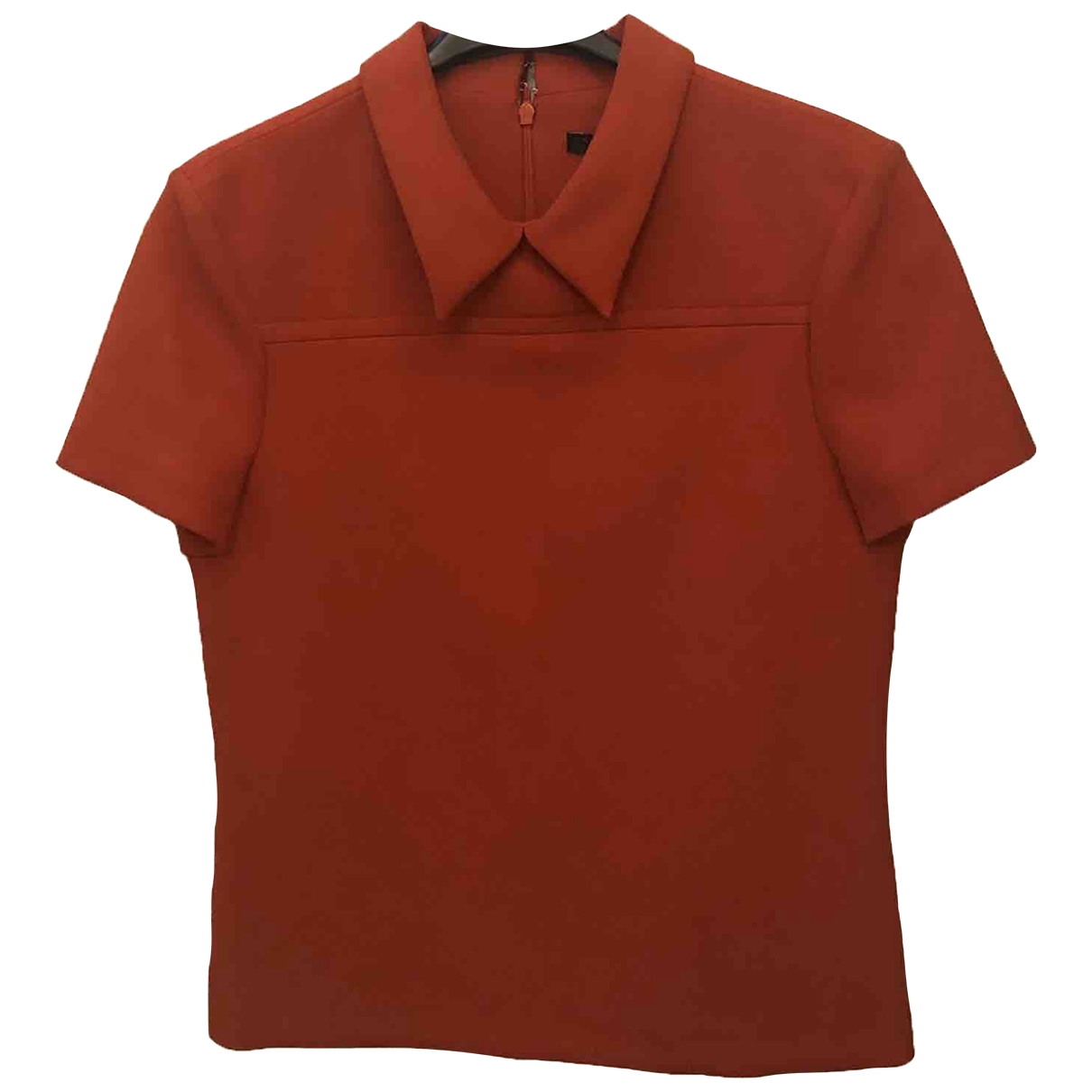 Tara Jarmon \N Top in  Orange Polyester