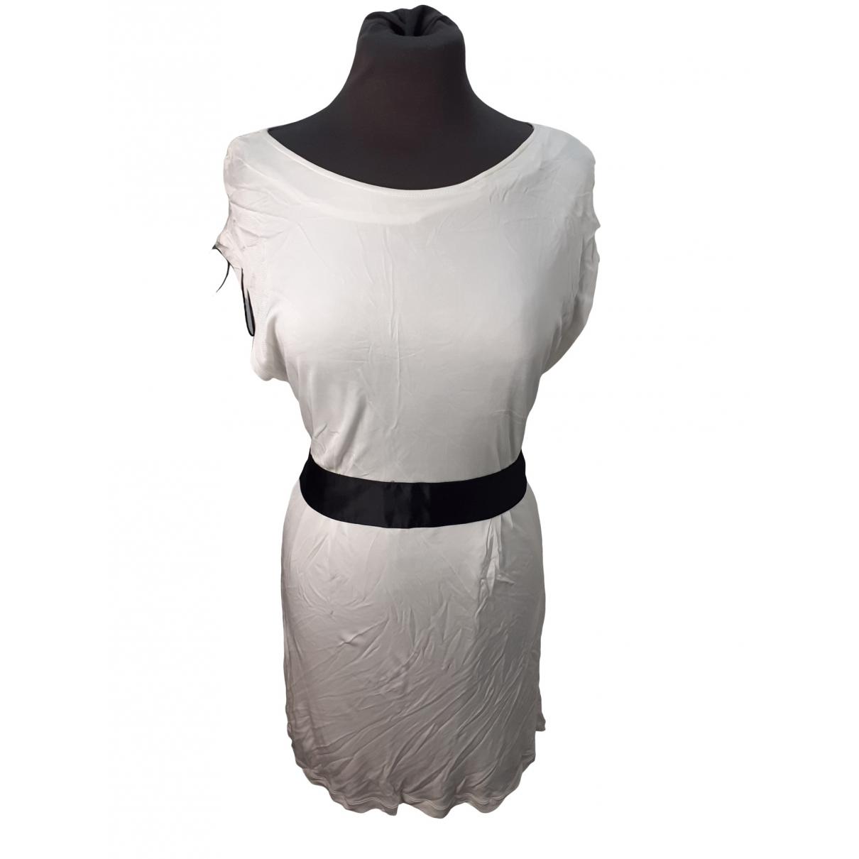 Pinko \N Kleid in  Weiss Synthetik