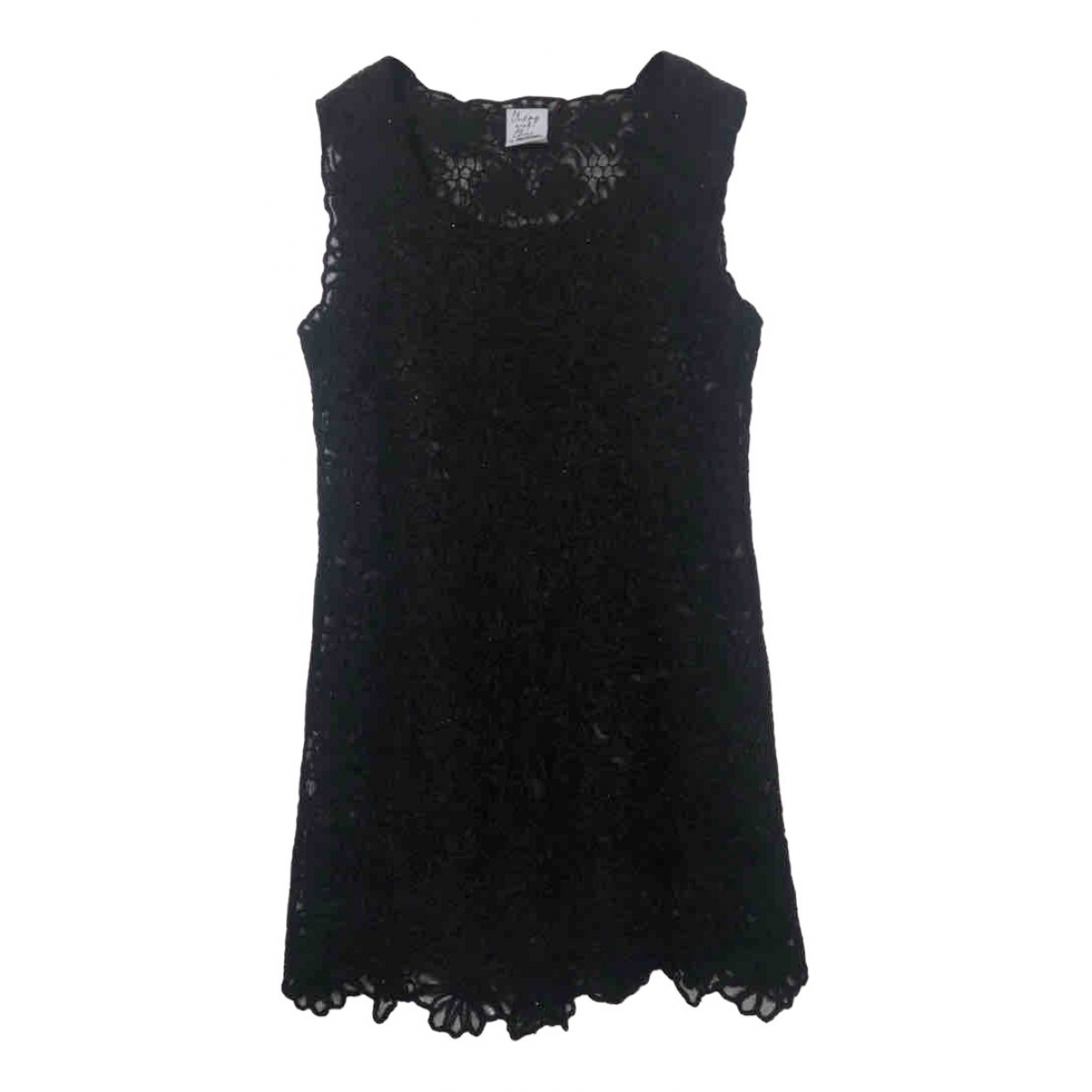Moschino Cheap And Chic N Black Wool dress for Women One Size FR