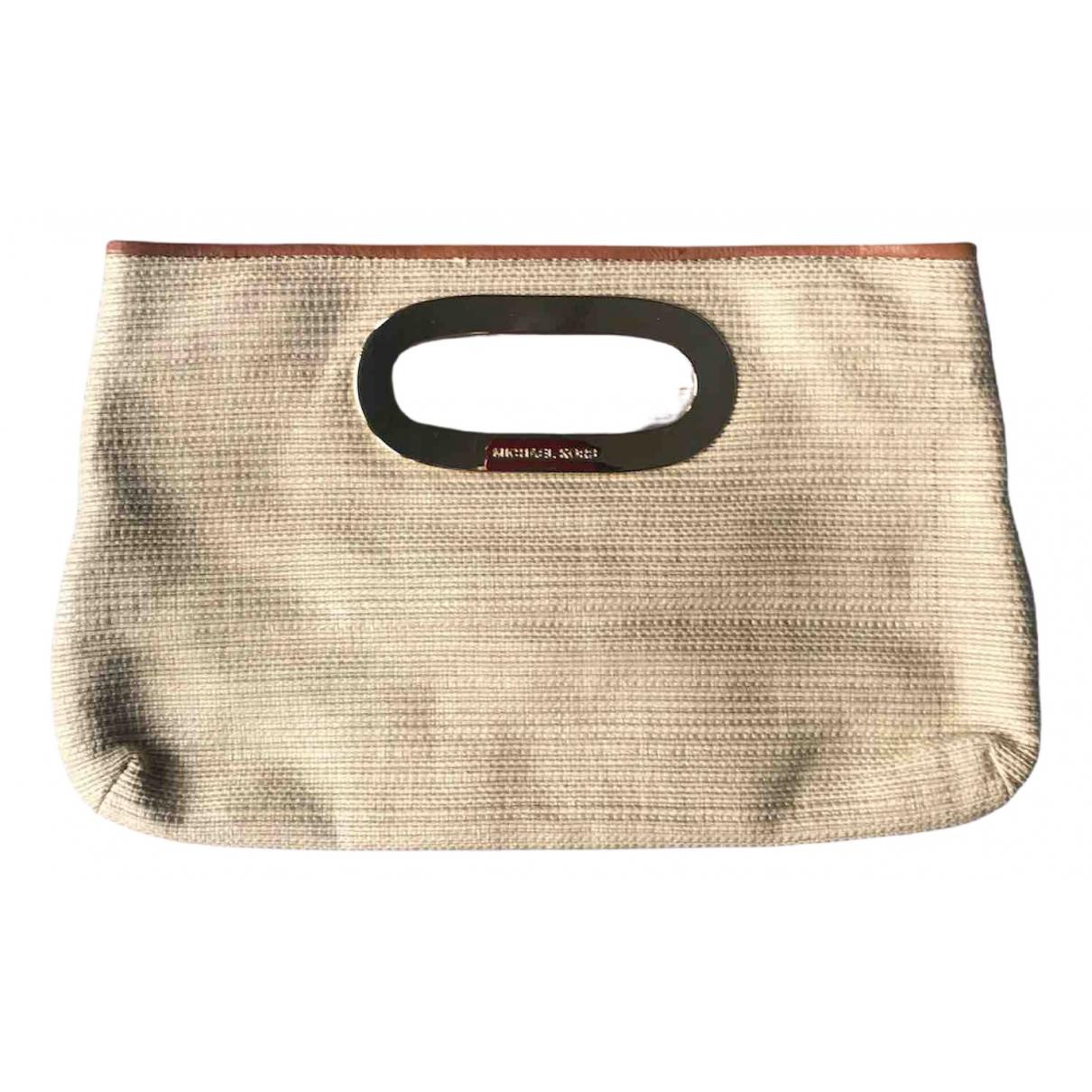 Michael Kors \N Beige Wicker Clutch bag for Women \N