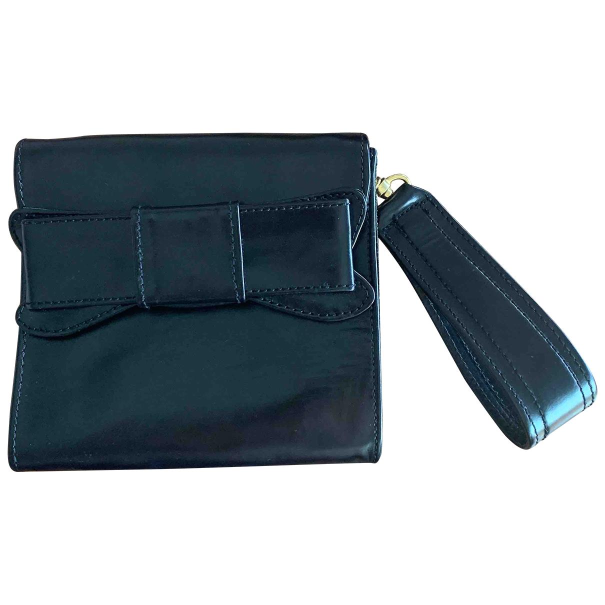 Miriam Ocariz \N Handtasche in  Schwarz Leder