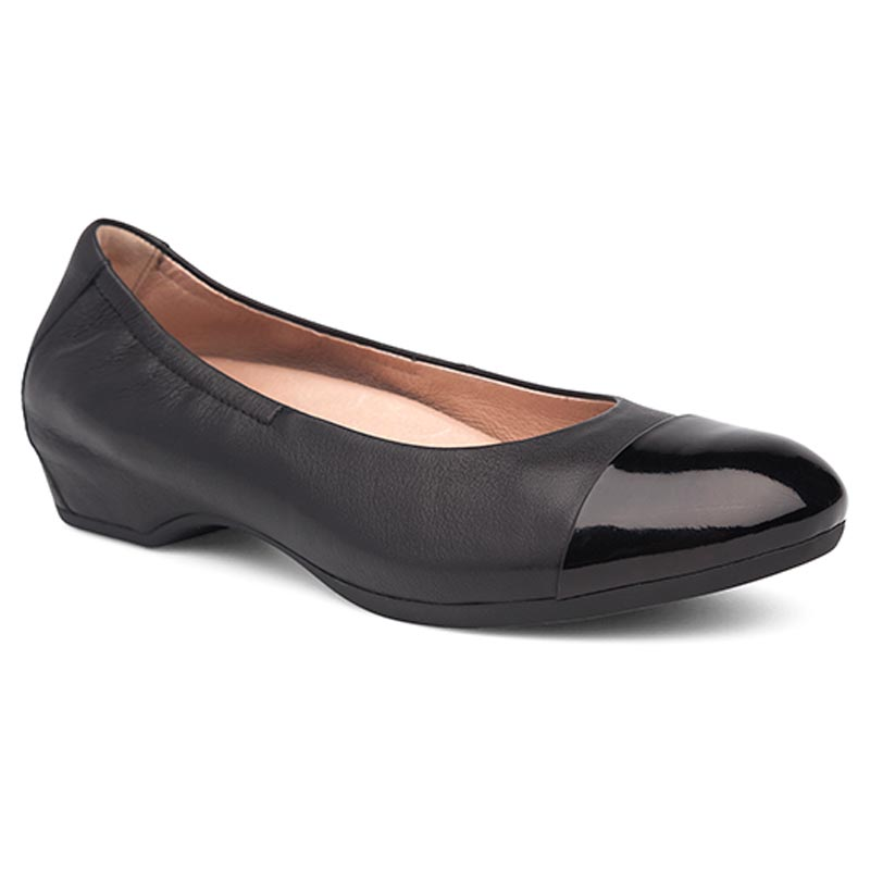 Dansko Lisanne Black Leather 39 R