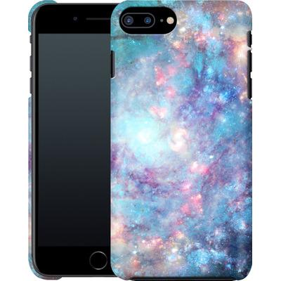 Apple iPhone 7 Plus Smartphone Huelle - Abstract Galaxy - Blue von Barruf