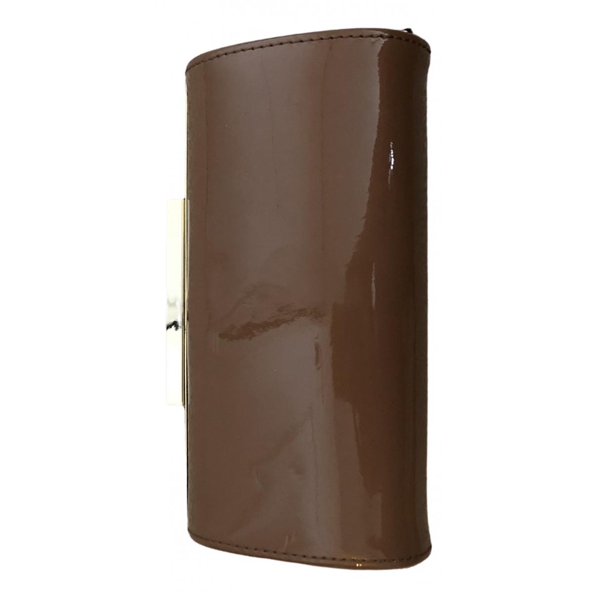 Lk Bennett \N Pink Patent leather Clutch bag for Women \N