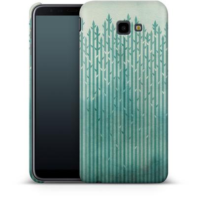 Samsung Galaxy J4 Plus Smartphone Huelle - Misty Morning von Little Clyde