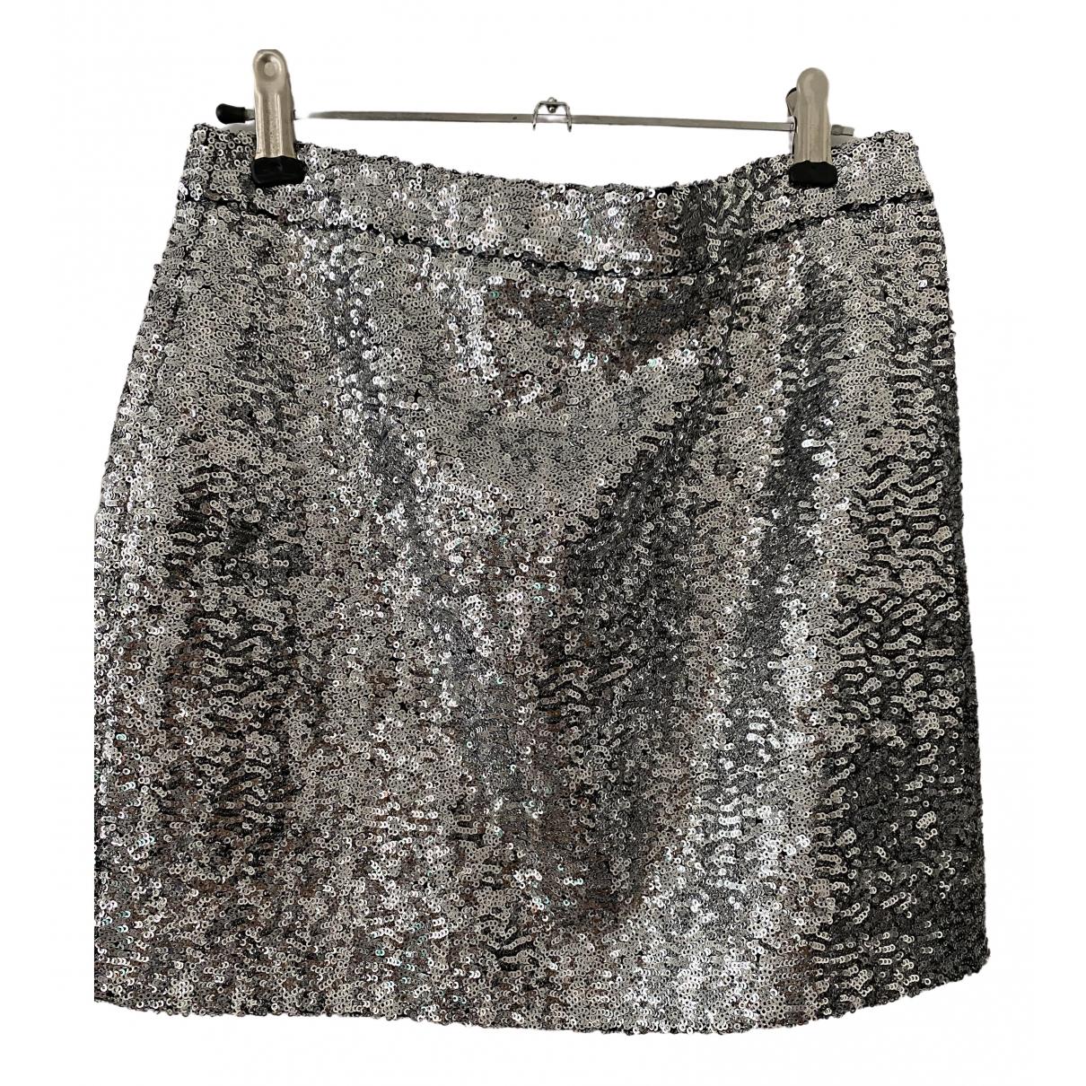 Saint Laurent \N Metallic skirt for Women 36 FR