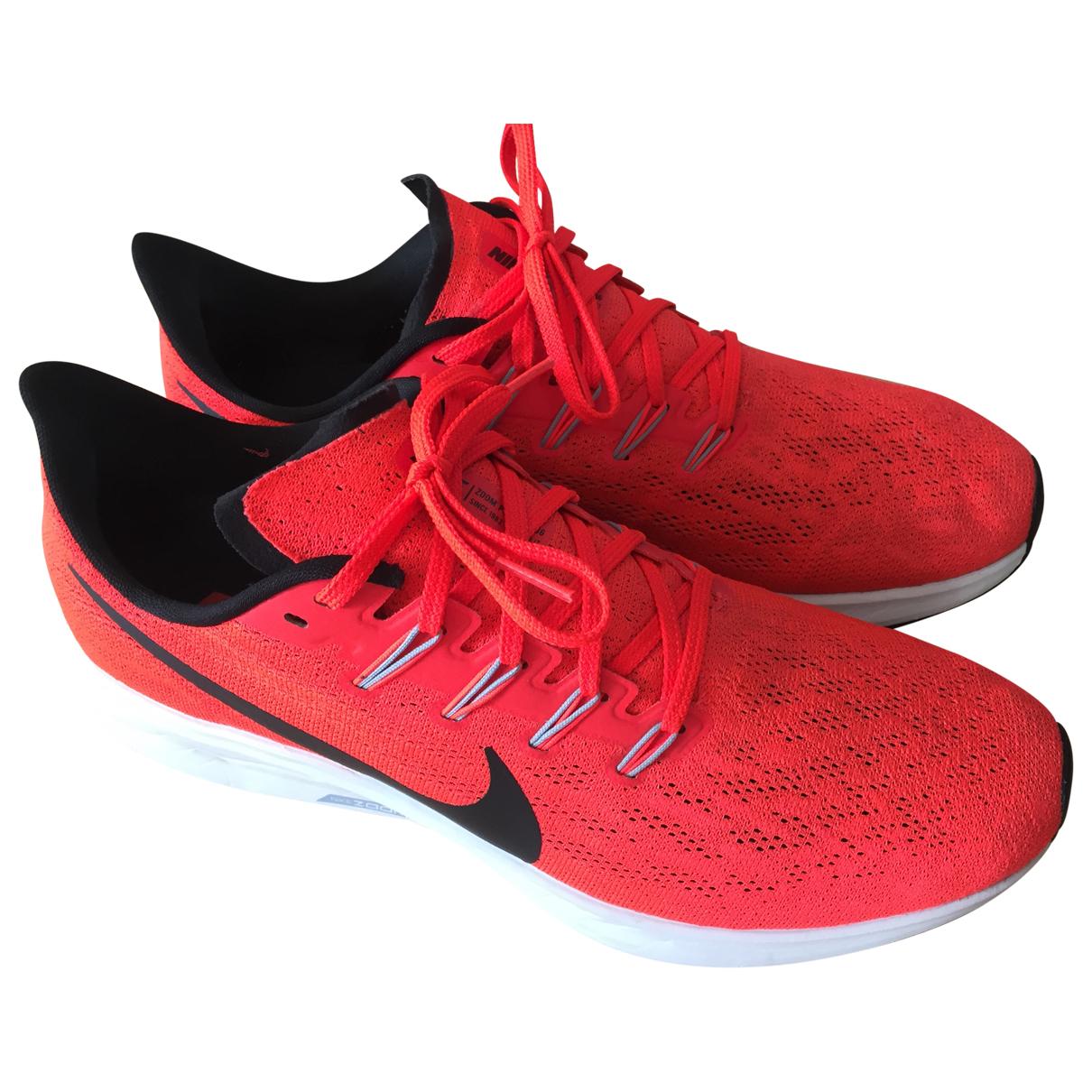 Nike Air Zoom Pegasus Orange Cloth Trainers for Men 9.5 UK