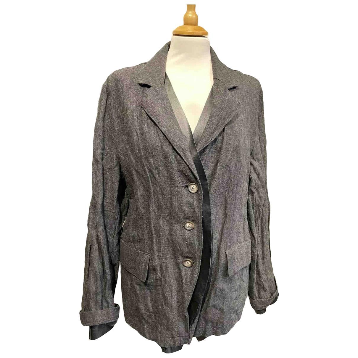 Ivan Grundhal - Veste   pour femme en laine - gris