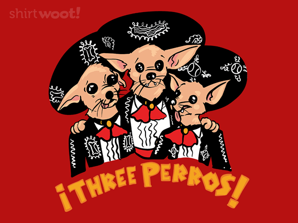 Three Perros T Shirt