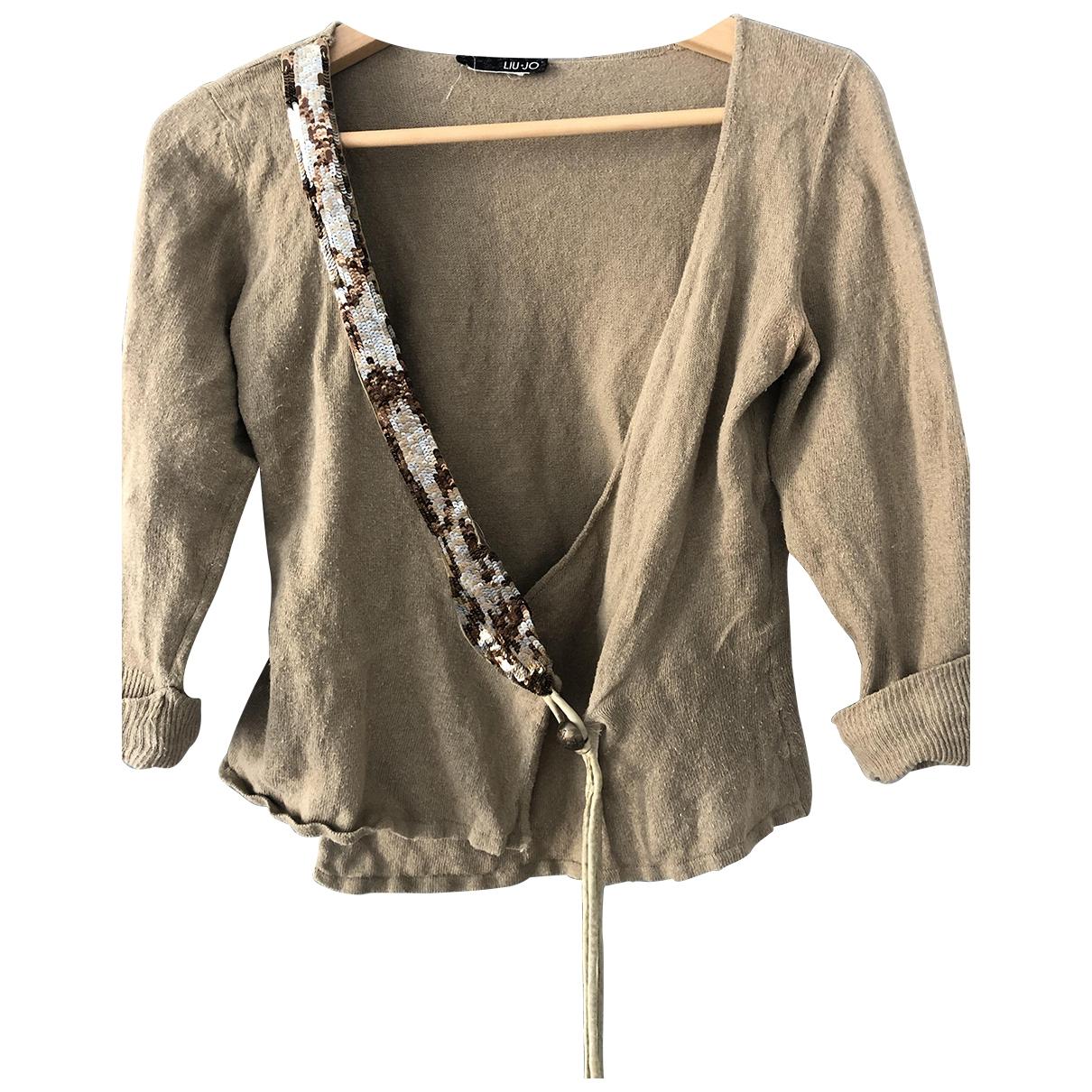 Liu.jo \N Beige Cotton Knitwear for Women 42 IT