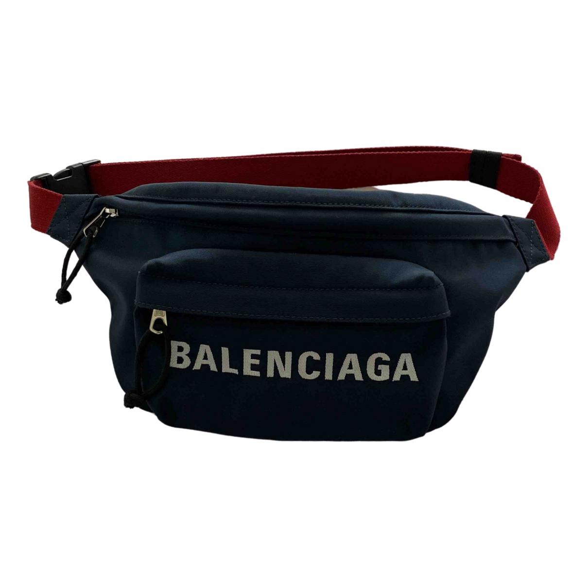 Balenciaga \N Navy bag for Men \N