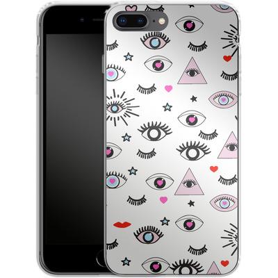 Apple iPhone 7 Plus Silikon Handyhuelle - Magic Eyes von Mukta Lata Barua