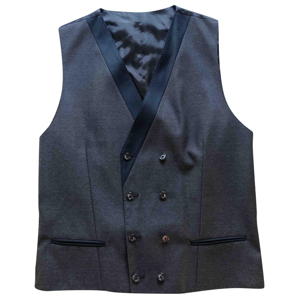 Dolce & Gabbana \N Pullover.Westen.Sweatshirts  in  Anthrazit Wolle