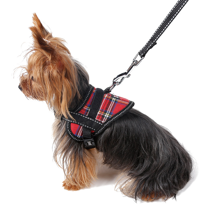 Dog Chest Back Traction Rope Pet Pull Rope Chest Strap