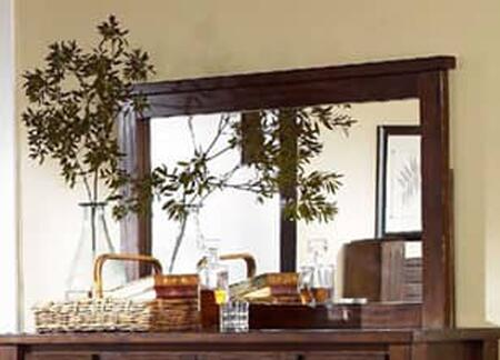 Trestlewood P611-50 Mirror with Distressed Detailing and Pine Veneer in Mesquite