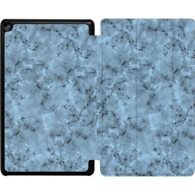 Amazon Fire HD 8 (2017) Tablet Smart Case - Blue Marble von caseable Designs
