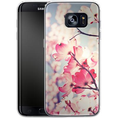 Samsung Galaxy S7 Edge Silikon Handyhuelle - Dialogue With The Sky von Joy StClaire