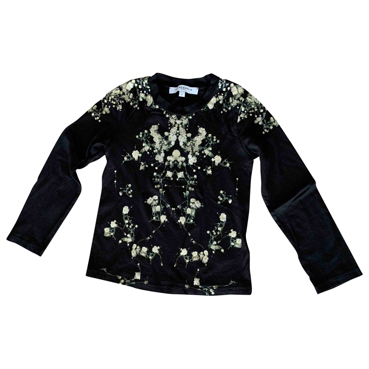 Givenchy \N Black Cotton  top for Kids 5 years - up to 108cm FR
