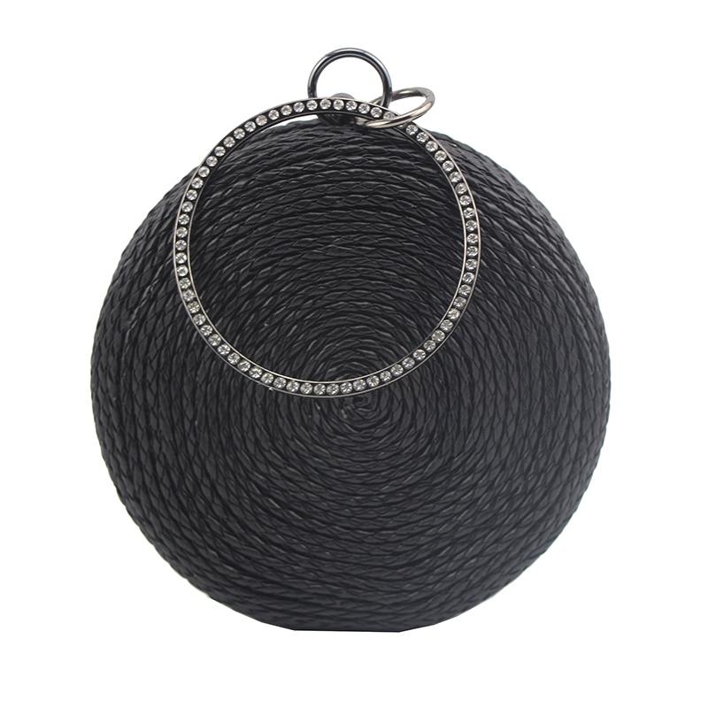 Ericdress Buckle Versatile Circular Clutches & Evening Bags