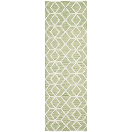 Safavieh Wilford Hand Woven Flat Weave Area Rug, One Size , Green