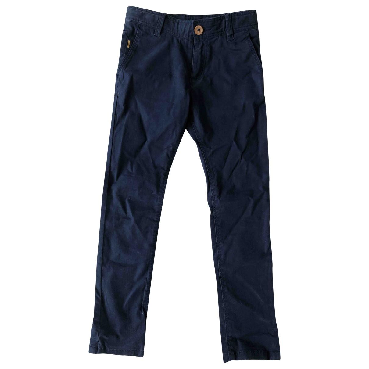 Boss - Pantalon   pour enfant en coton - bleu