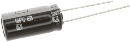 Panasonic 470μF Electrolytic Capacitor 35V dc, Through Hole - EEUEB1V471 (5)