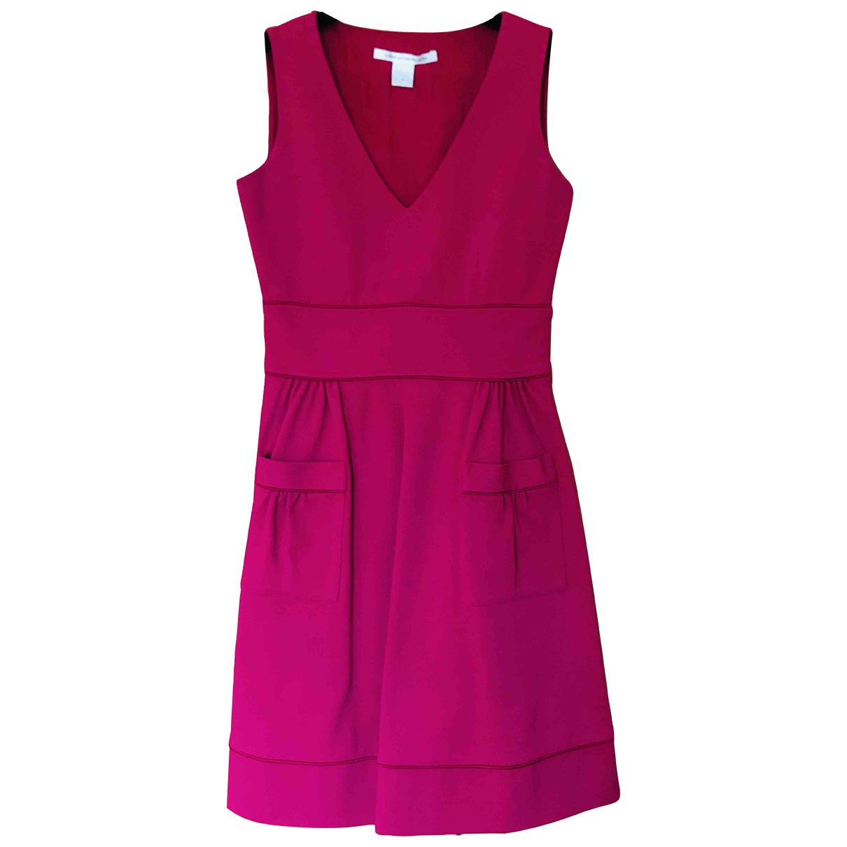 Diane Von Furstenberg \N Kleid in  Rosa Synthetik
