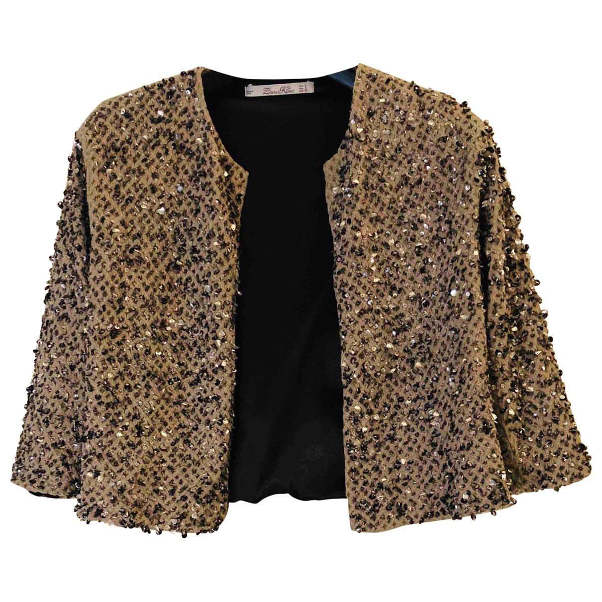 Zara \N Grey Glitter jacket for Women S International