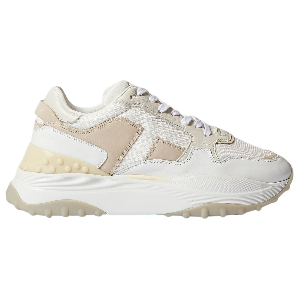 Tods \N Sneakers in  Weiss Leinen