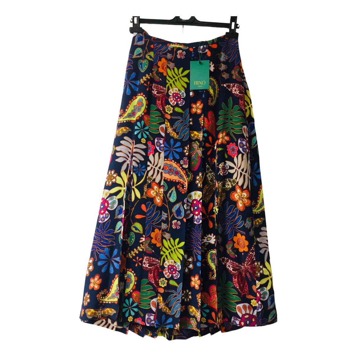Rixo \N Multicolour Silk skirt for Women S International