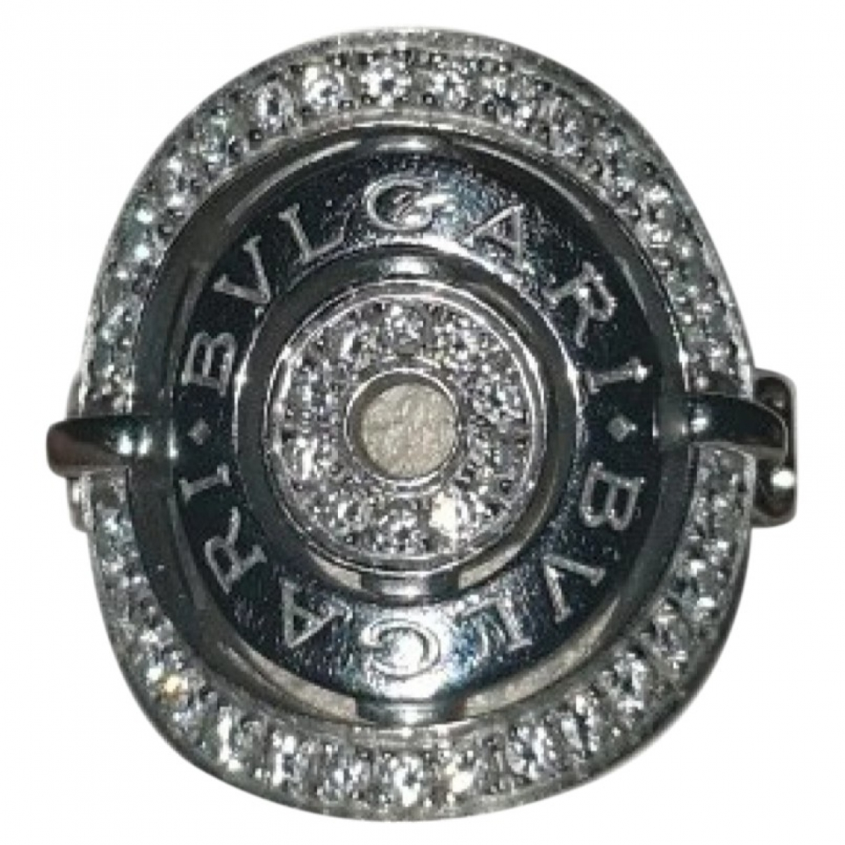Bvlgari Astrale Ring in  Silber Weissgold