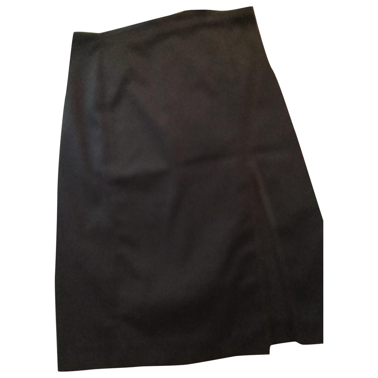 Gucci \N Black Cotton - elasthane skirt for Women 44 IT