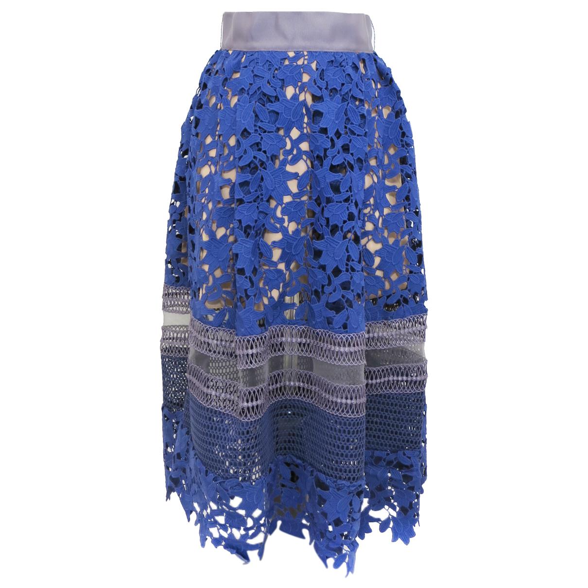 Self Portrait N Blue skirt for Women 2 US