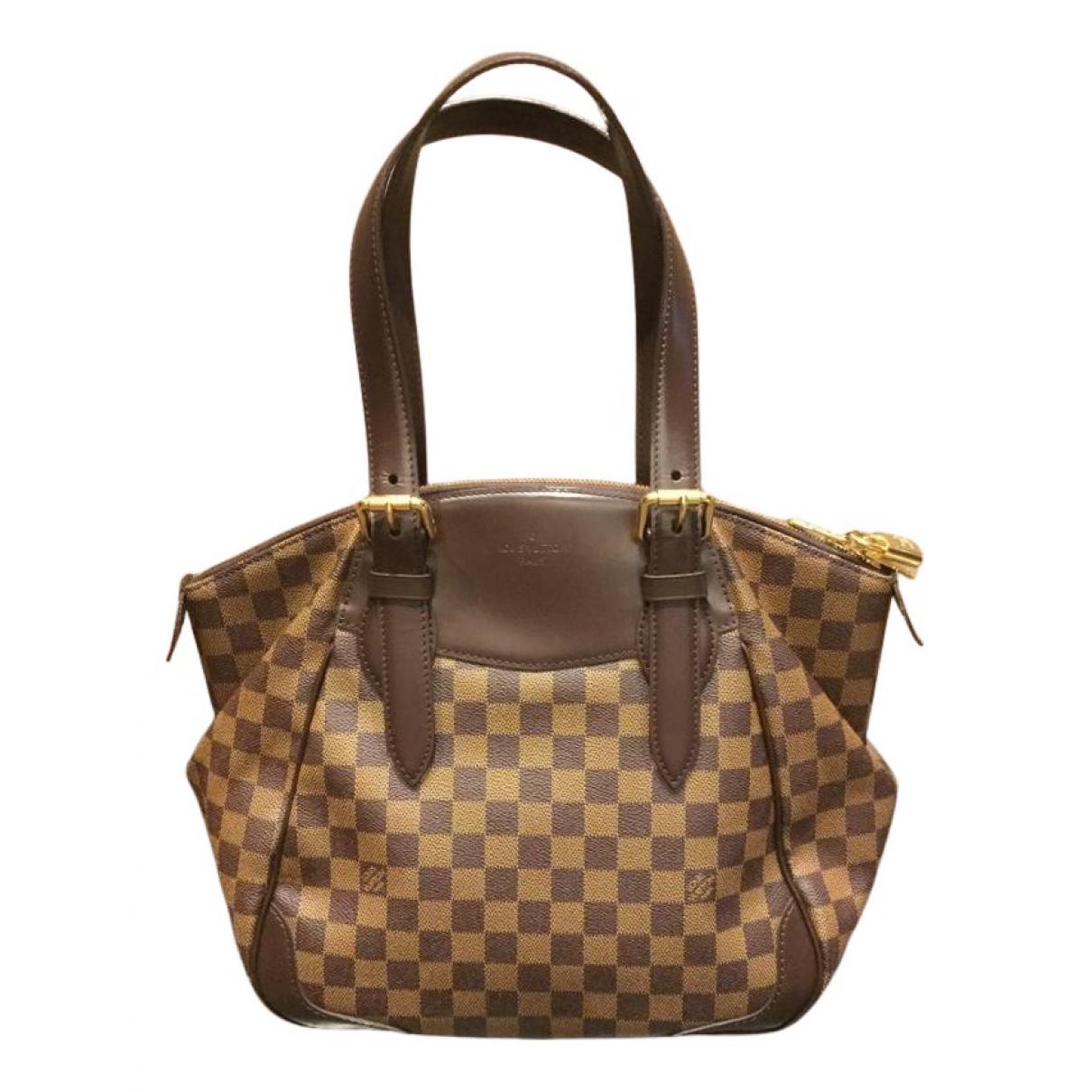 Louis Vuitton N Brown Cloth handbag for Women N