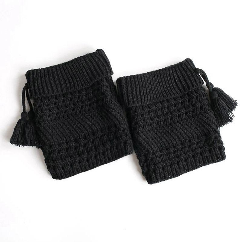 Ericdress Leg Warmers Tassels Socks