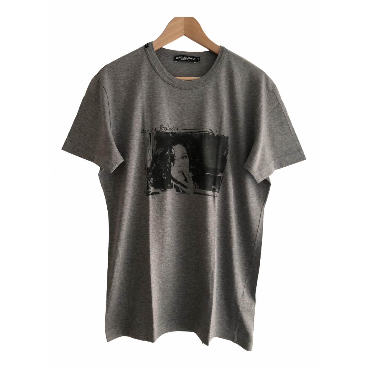 Dolce & Gabbana - Tee shirts   pour homme en coton - anthracite