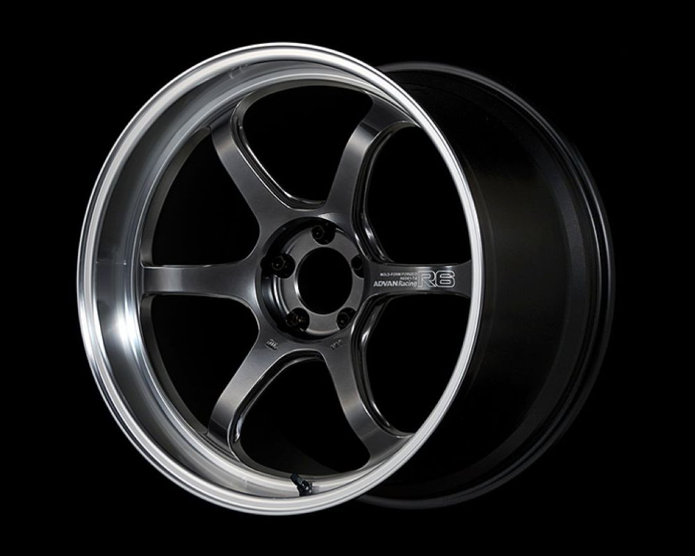 Advan R6 Wheel 20x11 5x114.3 15mm Machining & Racing Hyper Black