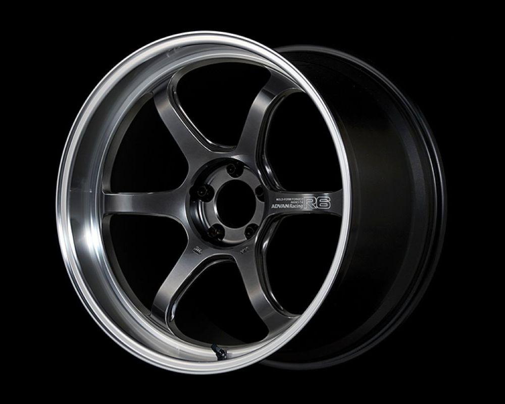 Advan R6 Wheel 20x10 5x114.3 35mm Machining & Racing Hyper Black