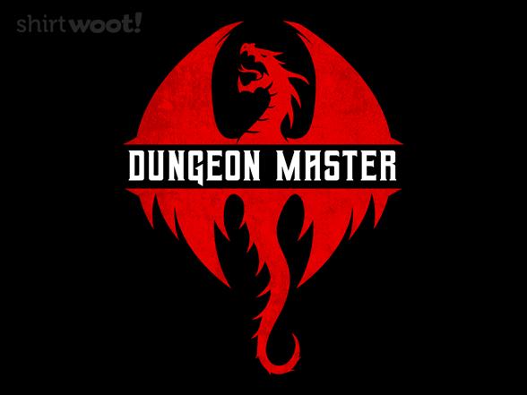 Master Of Dungeons T Shirt